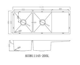 Audb11145 205l